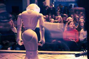 Robotter, kunstig intelligens og etik. Sønderborg Gymnasium. Foto: Anders Frejbæk